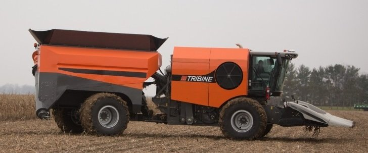 Self Propelled Cart >> Is the Tribine the future of harvesting crops? – Ohio Ag Net | Ohio's Country Journal