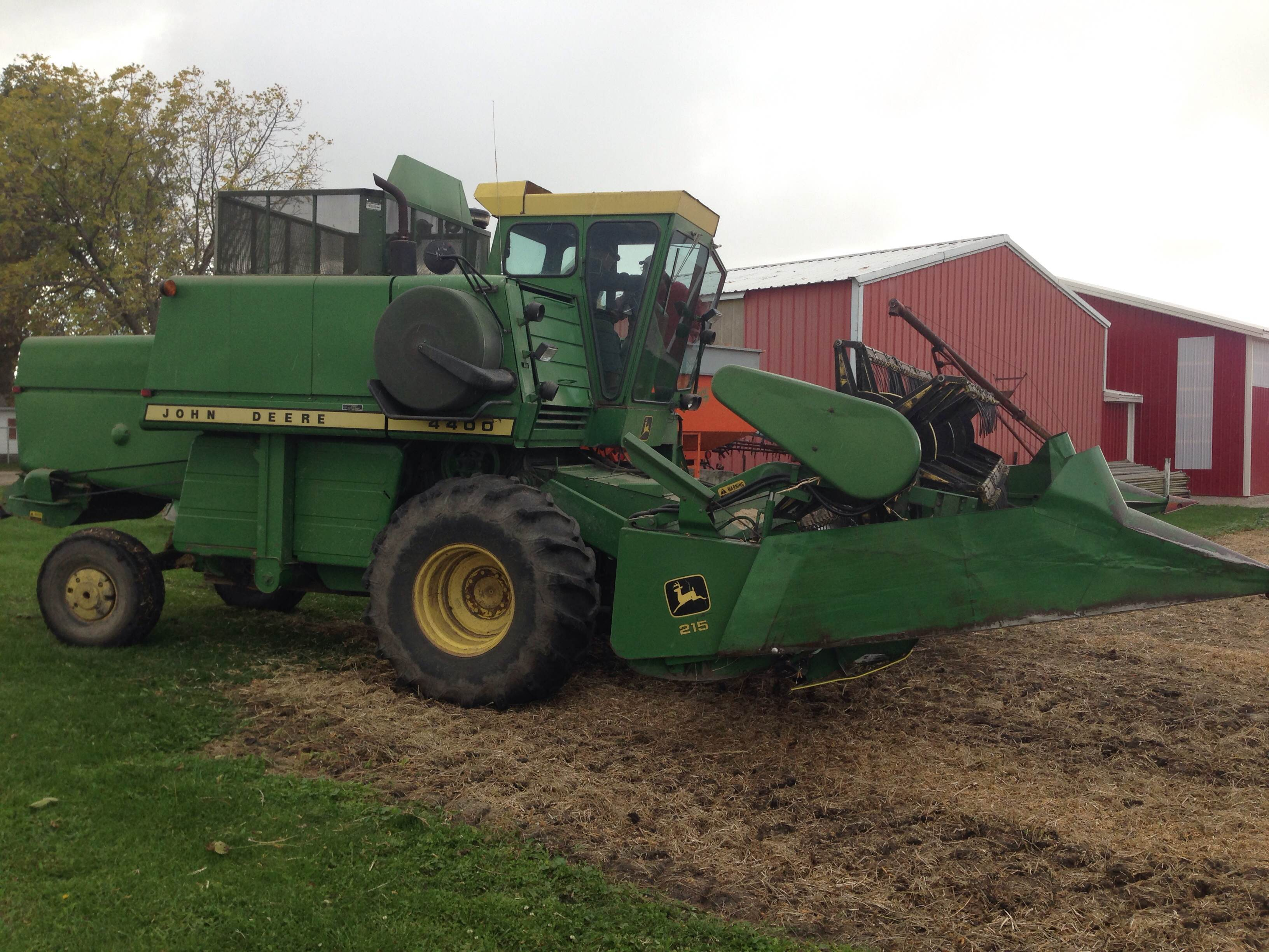 John Deere Combine : A john deere combine that is anything but green ohio ag