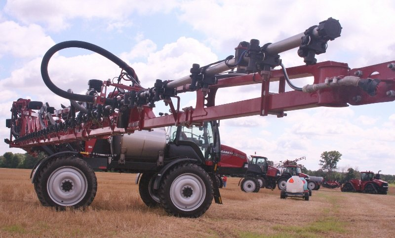 New Case IH Patriot sprayers highlighted at field day – Ohio