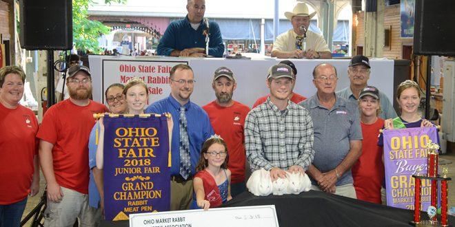 Rabbit Sale breaks records again at Ohio State Fair – Ohio