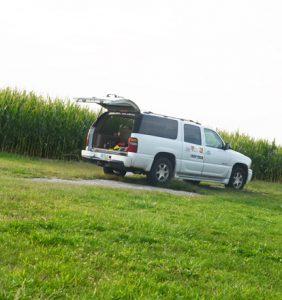 Hancock Co. corn field