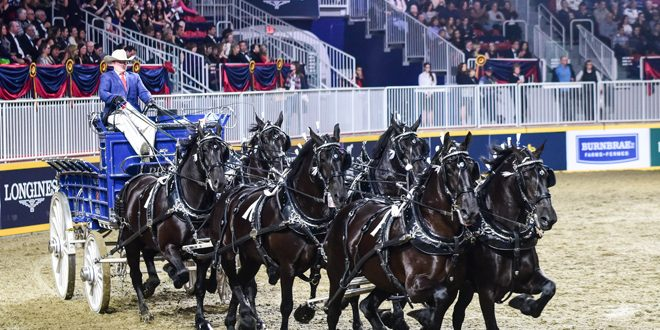 2020 Ohio State Fair Equine Show.Ohio Is Home To Back To Back Six Horse Hitch Champions