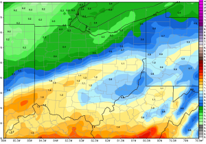 Ohio Ag Weather and Forecast, February 22, 2019