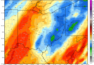 Ohio Ag Weather and Forecast, April 19, 2019