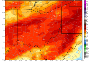Ohio Ag Weather and Forecast, April 25, 2019