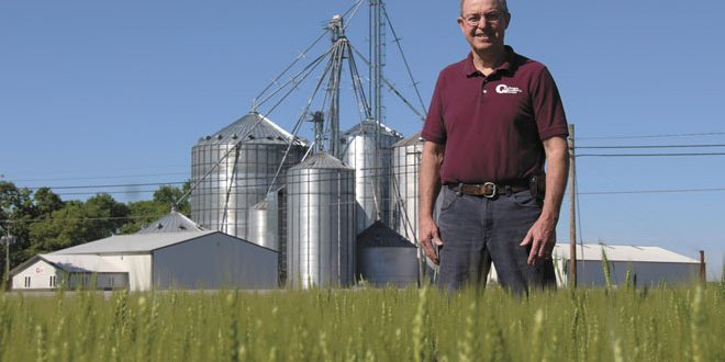 Two Ohio wheat farmers leading the nation both near and far