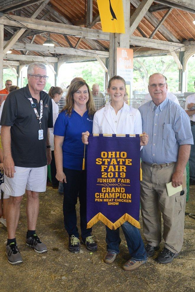 2019 Ohio State Fair Junior Market Poultry Results Ohio