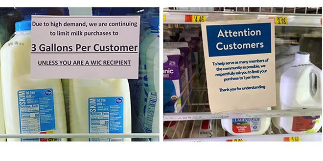 ADA Mideast urging stores to lift dairy purchase limits ...